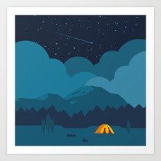On The night Like This Art Print