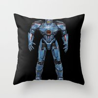 Vectorial Rim #5 Throw Pillow