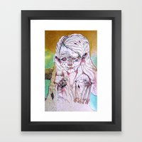 g a i n Framed Art Print