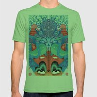 Where Is My Mind Mens Fitted Tee Grass SMALL