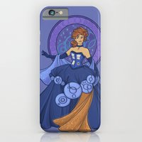 Gallifreyan Girl iPhone 6 Slim Case