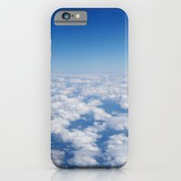 Blue Sky White Clouds Color Photography iPhone 6 Slim Case