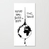 HANG THE WORLD. Canvas Print