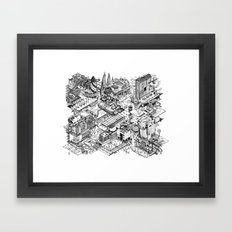 ARUP Fantasy Architecture Framed Art Print
