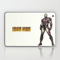 Iron Man - Colored Sketc… Laptop & iPad Skin