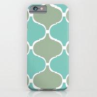 Marrakech Pattern Sea Green iPhone 6 Slim Case