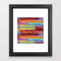 Zippers! Framed Art Print