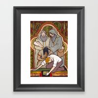 Yesterday, Today, And Fo… Framed Art Print