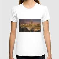 Red City Womens Fitted Tee White SMALL