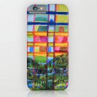 Tree In Front Of A Buil… iPhone 6 Slim Case