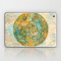 watercolor globe Laptop & iPad Skin