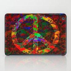 PEACE SKULLS iPad Case