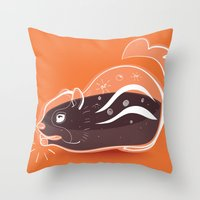 Transparent Chipmunks Lo… Throw Pillow