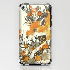 Fox In Foliage iPhone & iPod Skin