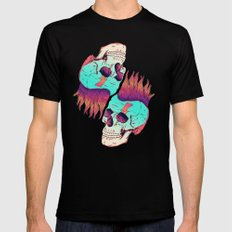 Skull Redux Mens Fitted Tee Black SMALL
