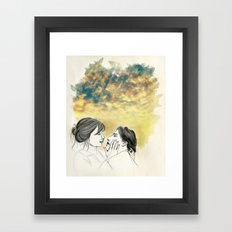Pleasure Delayer Framed Art Print