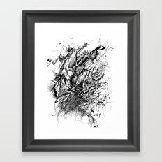 Aggresive Framed Art Print