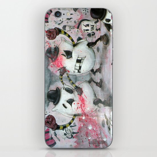 Pillow Fight!!! iPhone & iPod Skin