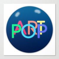 ARTPOP Ball Canvas Print