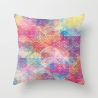 Cuben Web Throw Pillow