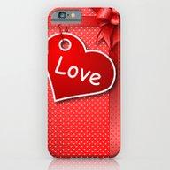 Valentine's  Gift G274 iPhone 6 Slim Case