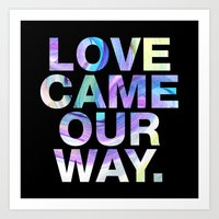 SUNDAYS ARE FOR SOULMATES / Love came our way. Art Print
