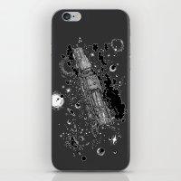 Space Train iPhone & iPod Skin