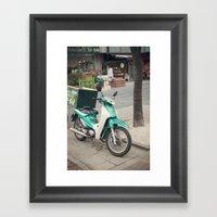 Special Delivery Framed Art Print