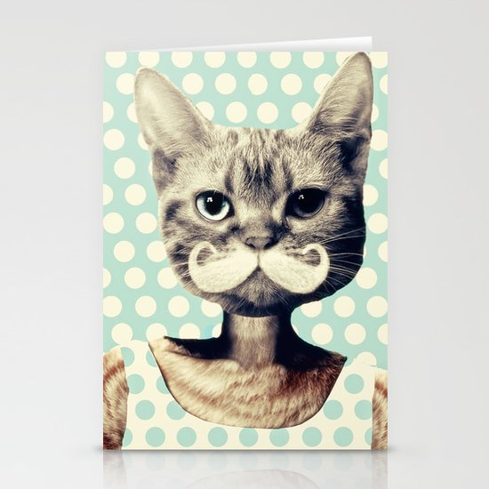 Kitten Stationery Card