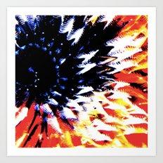 CoralColour Art Print