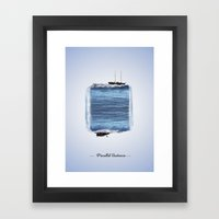 Parallel Universe Framed Art Print