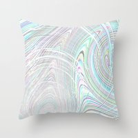 Re-Created  Hurricane 2 by Robert S. Lee Throw Pillow