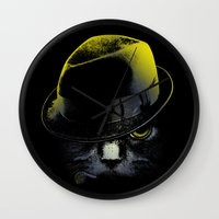 The Alley Cat Wall Clock
