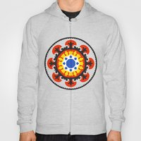 Bold and bright beauty of suzani patterns ver.4 Hoody