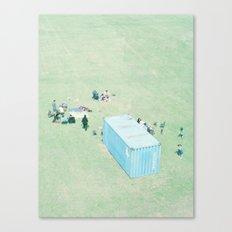 Public Viewing Canvas Print