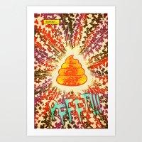 COSMIC POOP Art Print