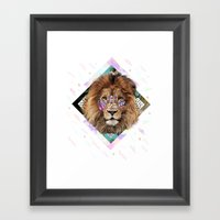 ISILWANE Framed Art Print