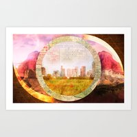 Dallas Art Print