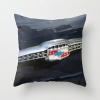 CHEVY Power Glide Throw Pillow