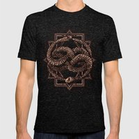 Life Is A NeverEnding Story Mens Fitted Tee Tri-Black SMALL