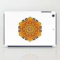 Patterned Sun iPad Case