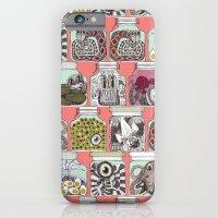 weird pickles coral iPhone 6 Slim Case