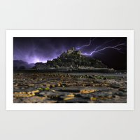 Electric Storm Art Print
