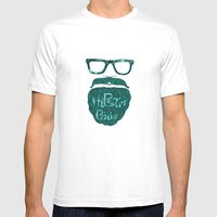 Hipster Pride Mens Fitted Tee White SMALL