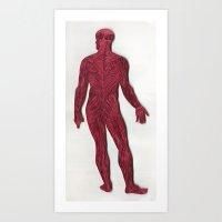 Full Figure Muscle Struc… Art Print