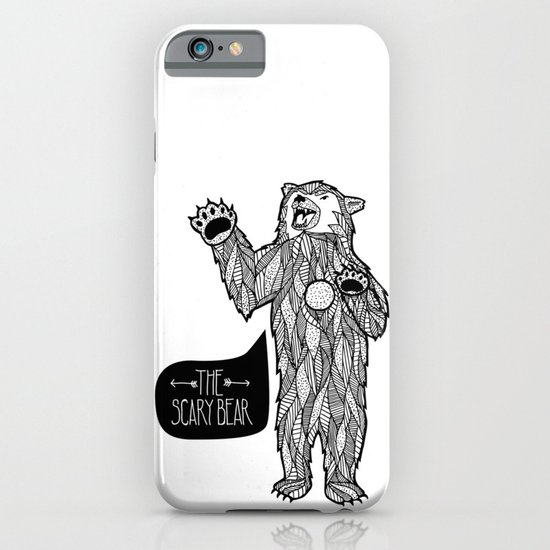 Scary Bear 2 iPhone & iPod Case