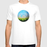 Mother Nature Mens Fitted Tee White SMALL