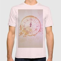 Timeless Mens Fitted Tee Light Pink SMALL