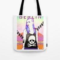 Welcome To BERLIN ||| Wi… Tote Bag