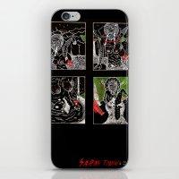 SARAH TONIN AND THE ITCH iPhone & iPod Skin